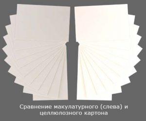 макулатурный картон