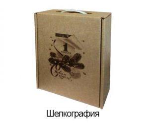 шелкография на картоне